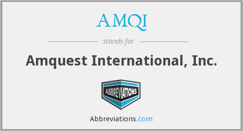 What does AMQI stand for?