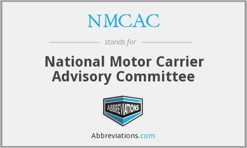 What does NMCAC stand for?