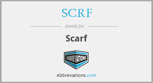 What does SCRF stand for?