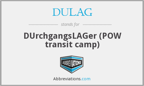 What does DULAG stand for?