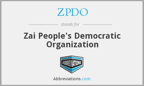 What does ZPDO stand for?
