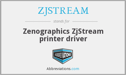 What does ZJSTREAM stand for?