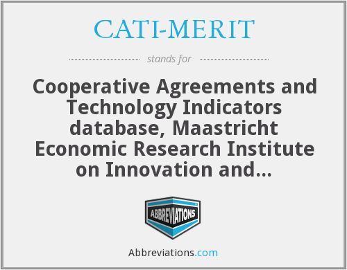 What does CATI-MERIT stand for?