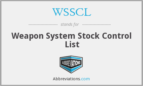What does WSSCL stand for?