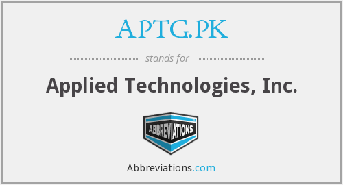 What does APTG.PK stand for?