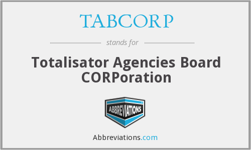 What does TABCORP stand for?