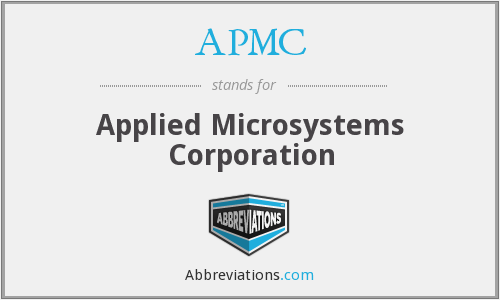 What does APMC stand for?