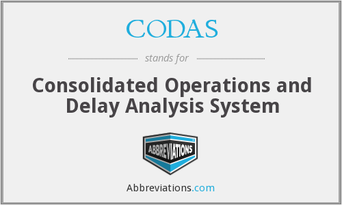 What does CODAS stand for?
