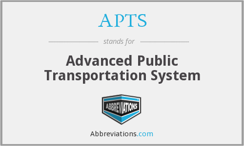 What does APTS stand for?