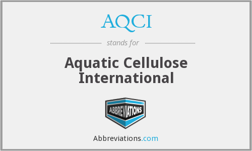 What does AQCI stand for?