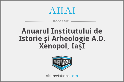 What does AIIAI stand for?