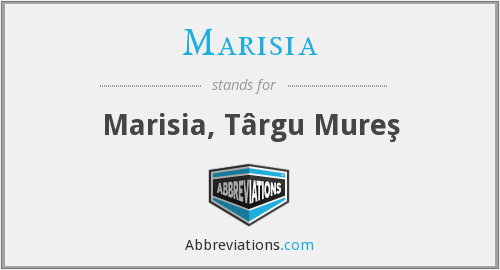 What does MARISIA stand for?