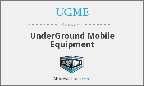 What does UGME stand for?