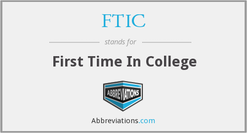 What does FTIC stand for?