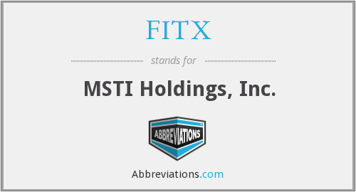 What does FITX stand for?