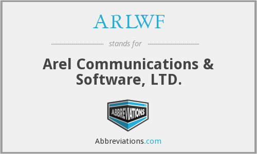 What does ARLWF stand for?