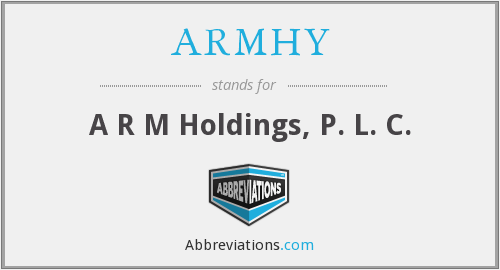 What does ARMHY stand for?