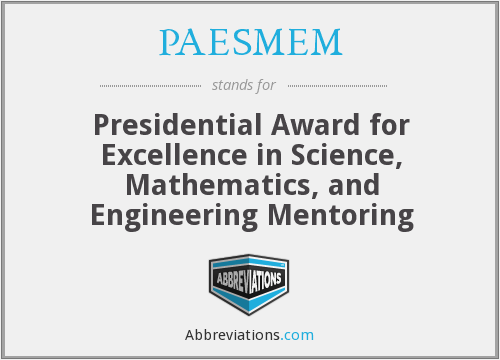 What does PAESMEM stand for?