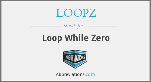 What does LOOPZ stand for?