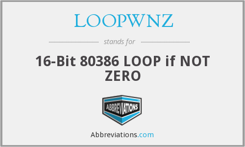 What does LOOPWNZ stand for?