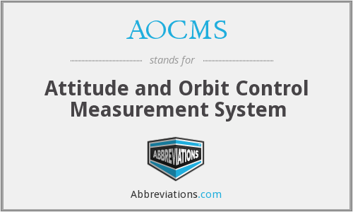 What does AOCMS stand for?