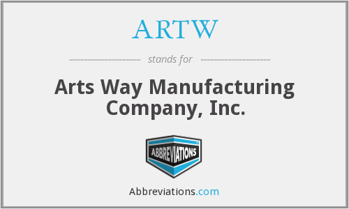 What does ARTW stand for?