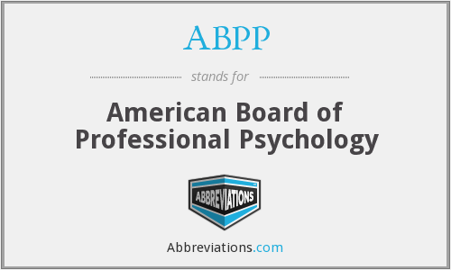 What does ABPP stand for?
