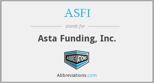 What does ASFI stand for?