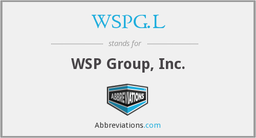 What does WSPG.L stand for?