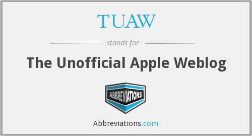 What does TUAW stand for?