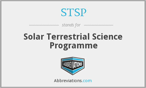 What does STSP stand for?