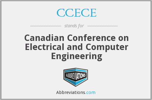 What does CCECE stand for?