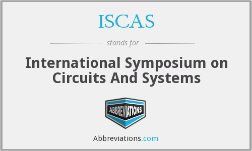 What does ISCAS stand for?