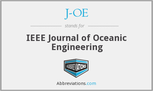 What does J-OE stand for?