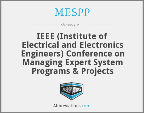 What does MESPP stand for?