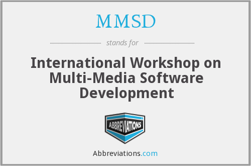 What does MMSD stand for?