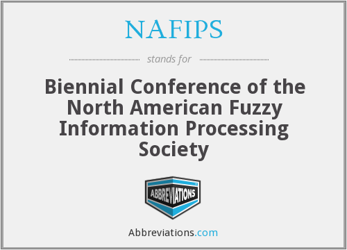 What does NAFIPS stand for?