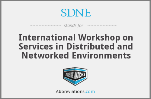 What does SDNE stand for?