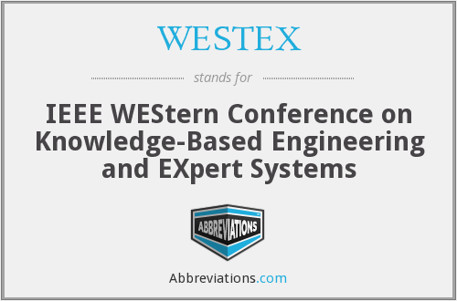 What does WESTEX stand for?
