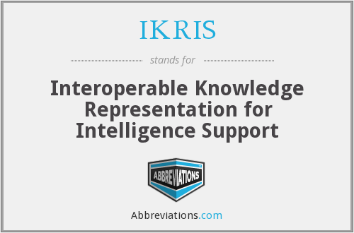 What does IKRIS stand for?
