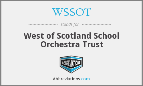 What does WSSOT stand for?
