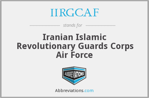 What does IIRGCAF stand for?