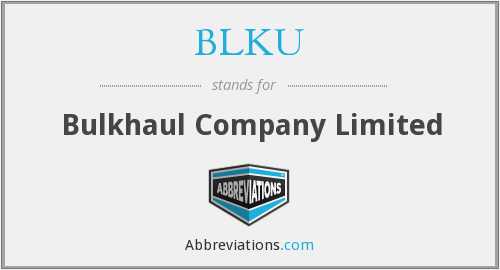 What does BLKU stand for?