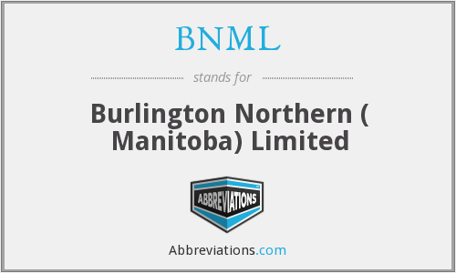 What does BNML stand for?