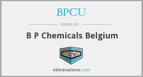 What does BPCU stand for?