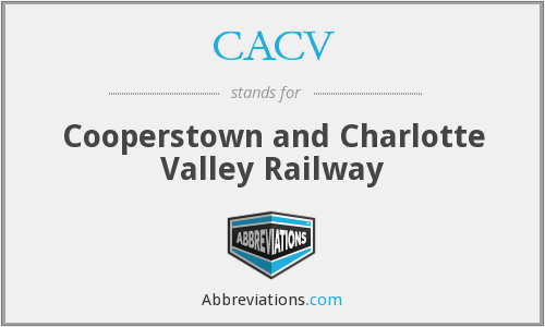 What does CACV stand for?