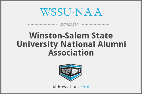 What does WSSU-NAA stand for?
