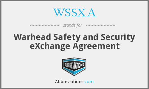 What does WSSXA stand for?