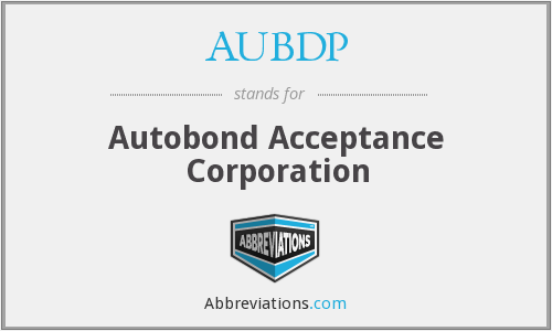 What does AUBDP stand for?
