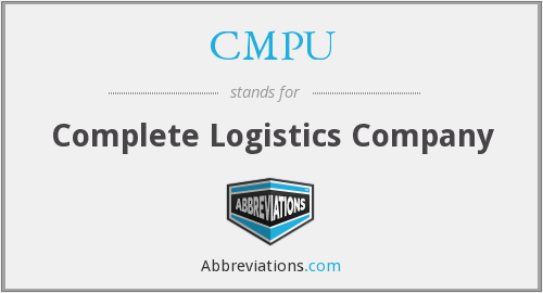 What does CMPU stand for?